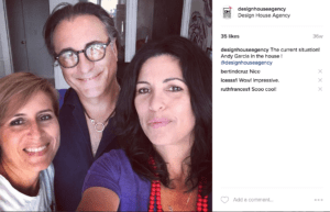 ANDY GARCIA at Designhouse